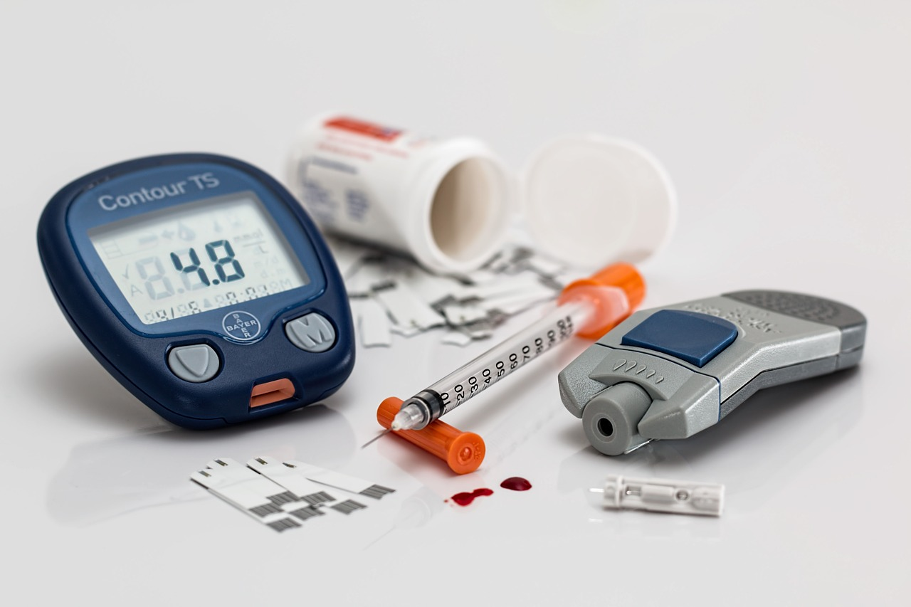 Diabetes teststrips